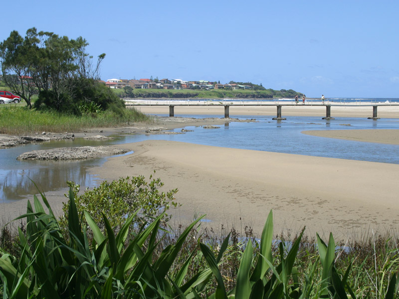 The New Bridge Provides Easy Access Across Crooked River To Seven Mile Beach Gerroa