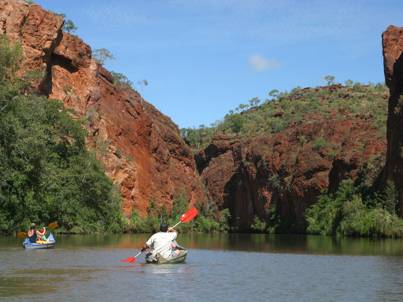 14. Canoeing at Lawn Hill GorgeAA