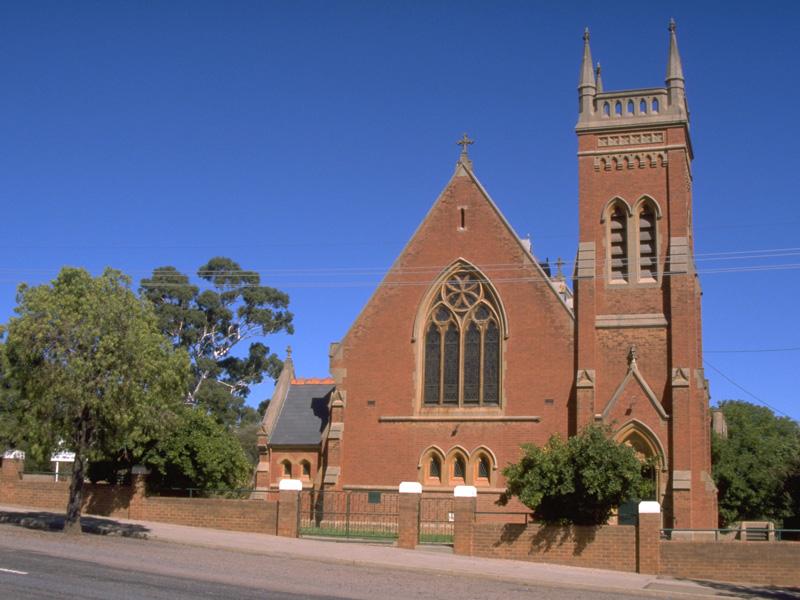 Narrandera Australia  city images : St Mel's Catholic Church where the poet John O'Brien was the Parish ...