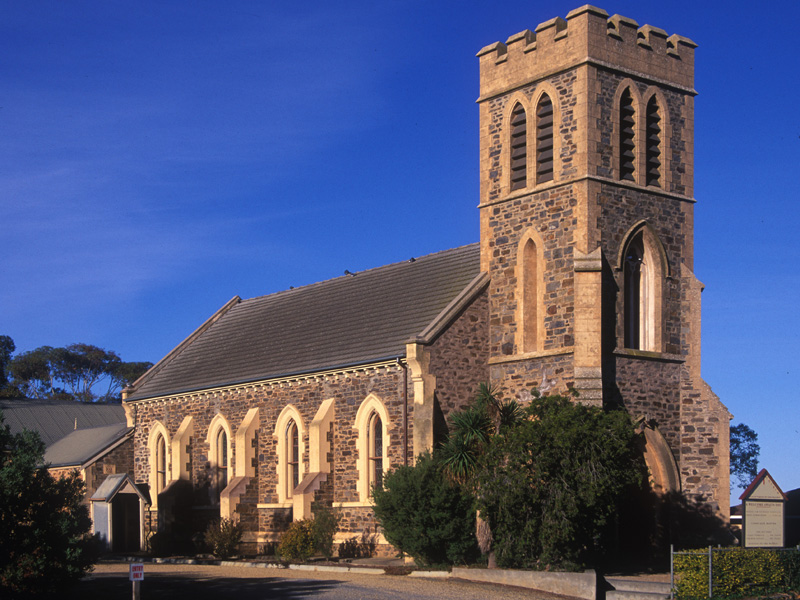 Strathalbyn Australia  city photo : Christ Church, Anglican Church in Strathalbyn.