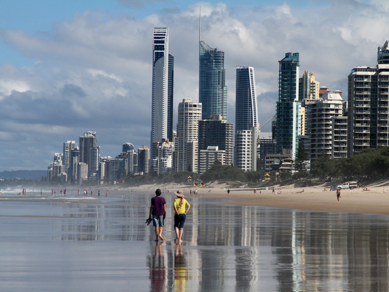 Surfers Paradise Qld Aussie Towns